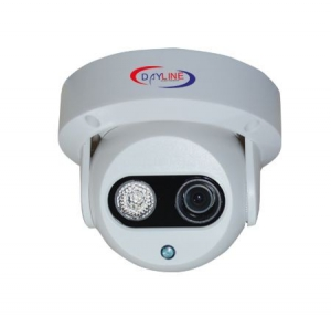 DAYLİNE DL-2026HD 650TVL IR DOME 3.6MM 1ATOM LED 20-30MT KAMERA BEYAZ
